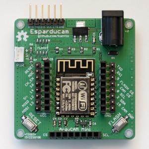 The Espaducam board