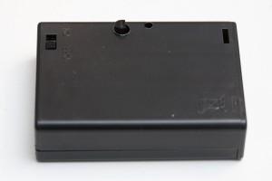 AAduino inside 3xAA box