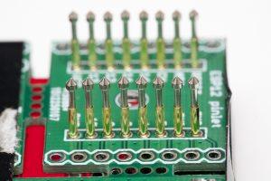 P75-E2 pins