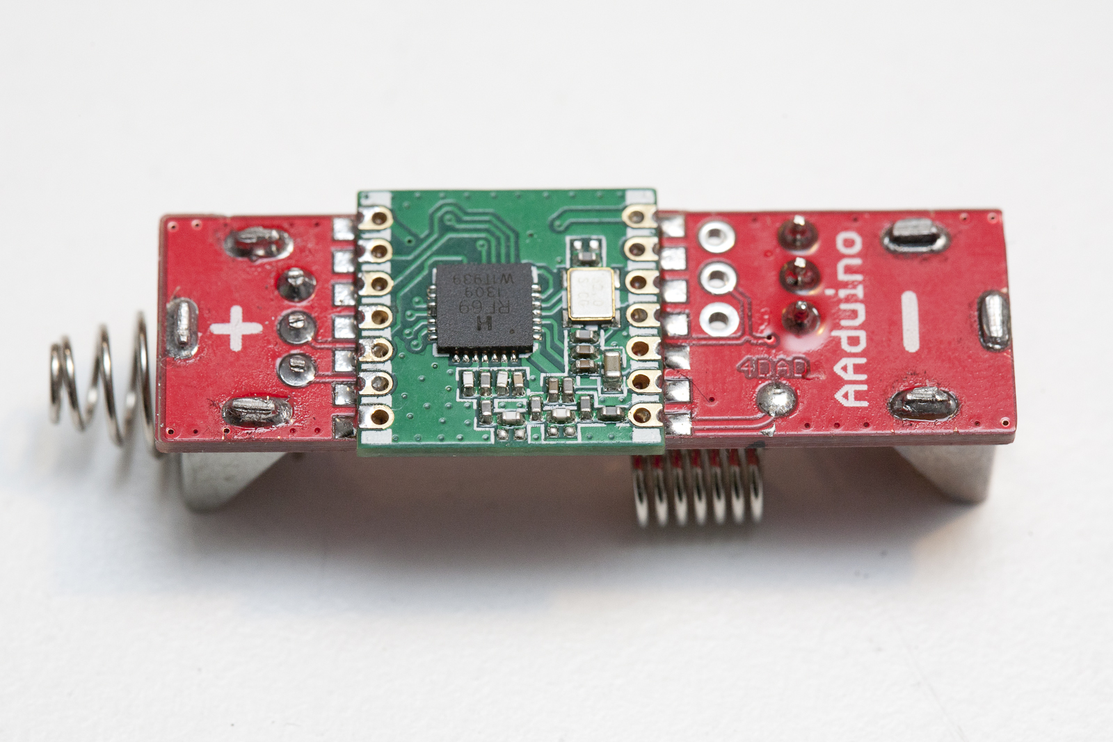 The Aaduino Johan Kanflo Electronicsdiycomcircuit And Rf Thief Rfm69c Side