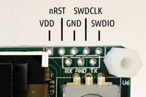 Old SWO/UART pinout